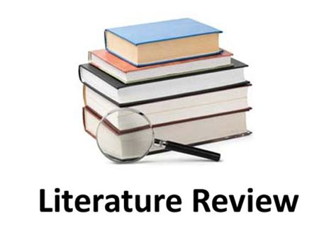 Literature review of thesis paper